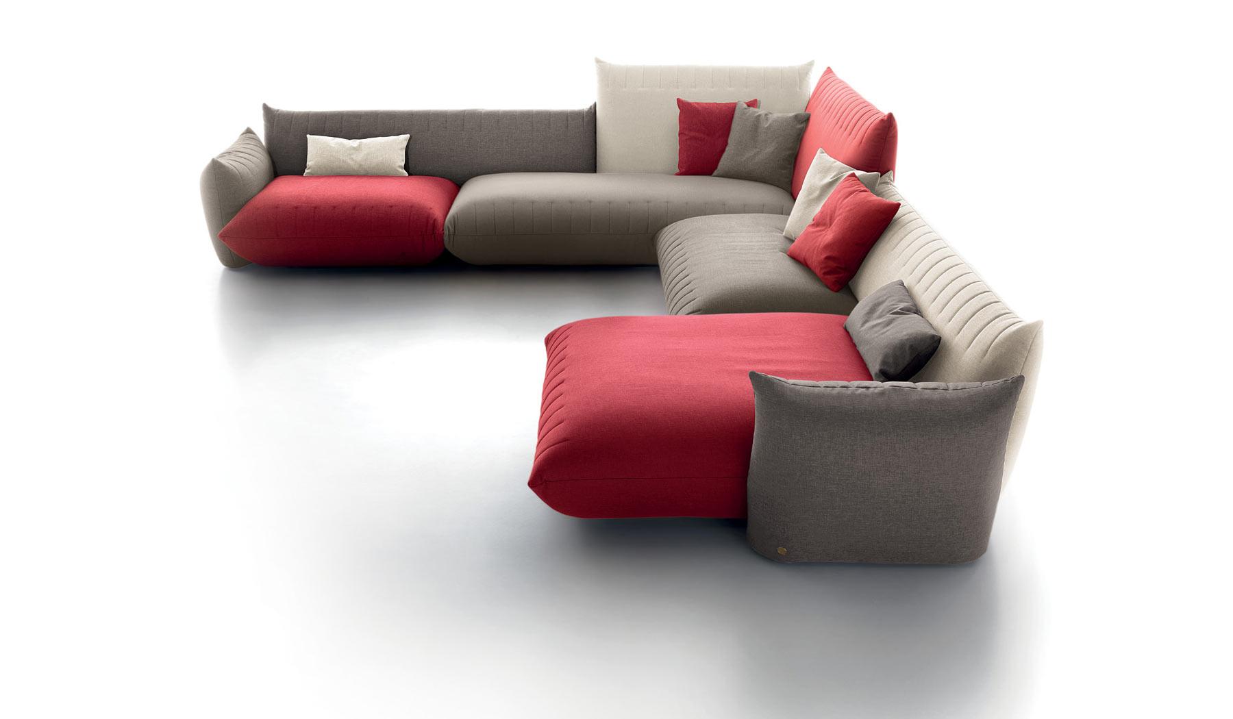Belleri divani for Salotti particolari