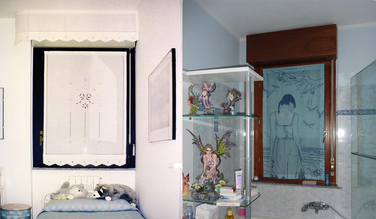 Belleri tende decorate - Tende per finestre con cassonetto ...