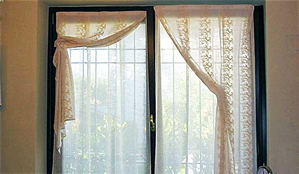 Belleri tende a vetro - Tende di lino per cucina ...